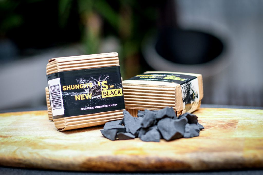 real genuine shungite mineral