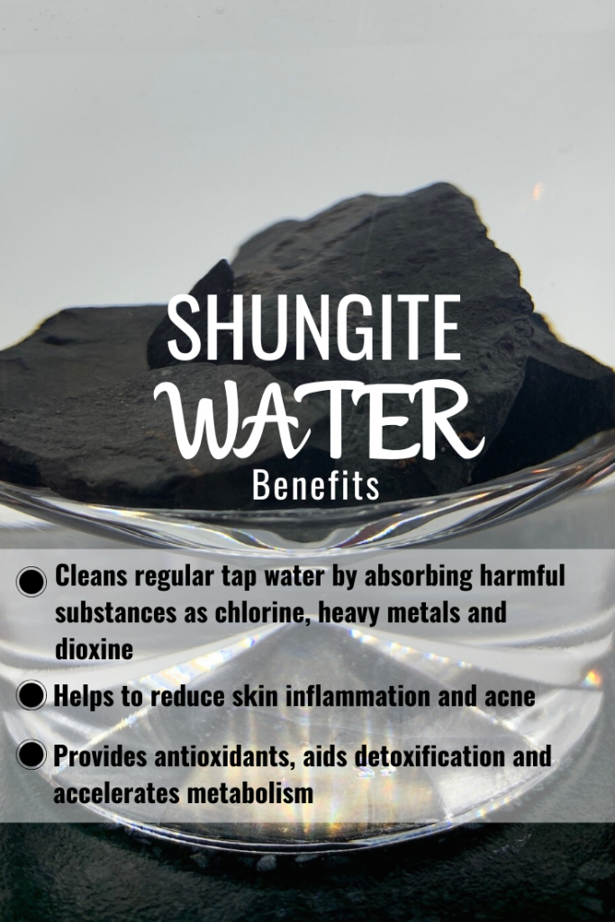 shungite water benefits